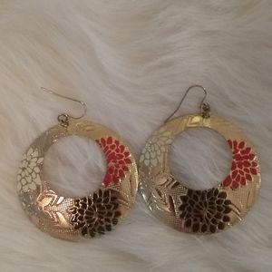 Forever 21 gold toned earrings